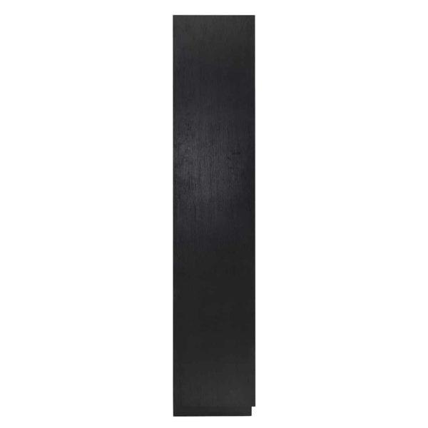 6502 BLACK - Boekenkast Oakura 2-deuren (ZZZ-Zwart)