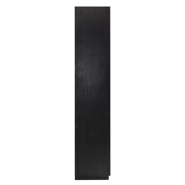6515 BLACK - Boekenkast Oakura 2-deuren (ZZZ-Zwart)