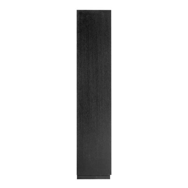 6520 BLACK - Dichte kast Oakura 2x2-deuren (ZZZ-Zwart)