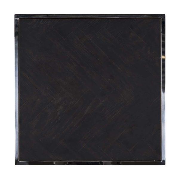 7422 - Bijzettafel Blackbone silver 50x50 (Silver)
