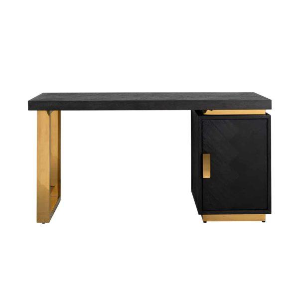 7462 - Bureau Blackbone gold 1-deur (Goud)