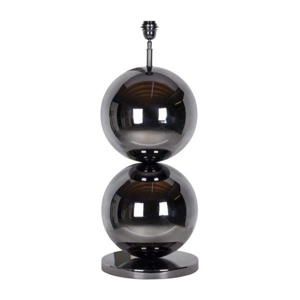 -LB-0058 - Tafellamp Bobbie zwart nickel (Black)