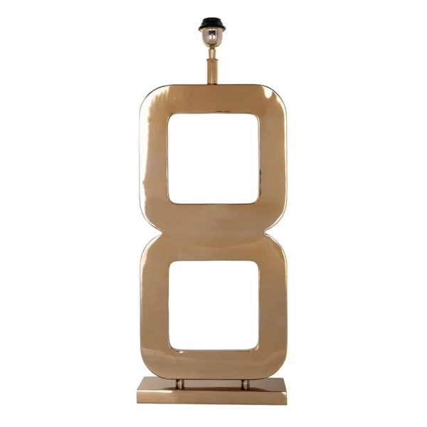 -LB-0073 - Tafellamp Annson goud (Goud)