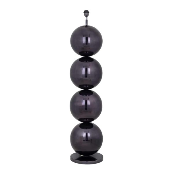 -LB-0075 - Vloerlamp Adney zwart nickel (ZZZ-Zwart)