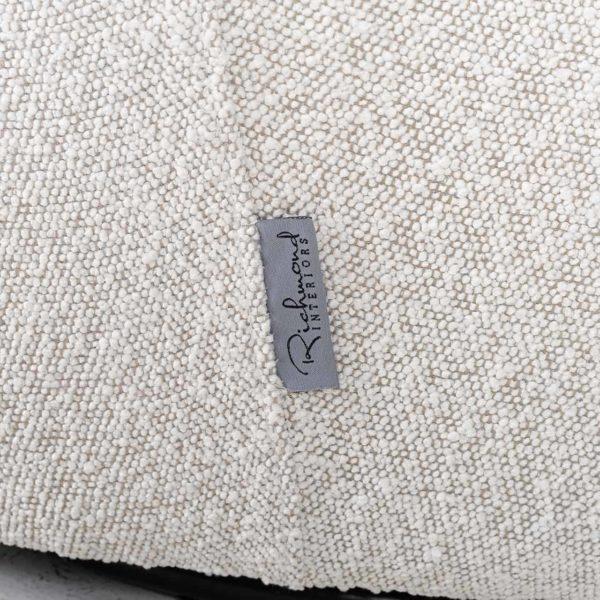 S5129 WHITE BOUCLÉ - Draaifauteuil Letitia White Bouclé (Copenhagen 900 Bouclé White)