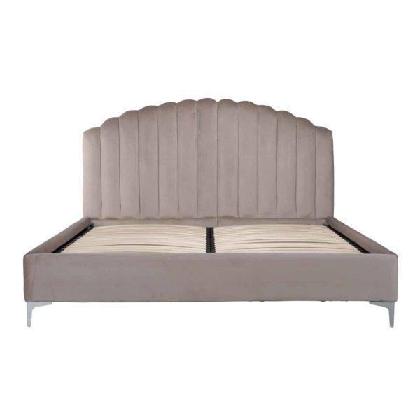 S6002 KHAKI VELVET - Bed Belmond 180x200 excl. matras (Quartz Khaki 903)