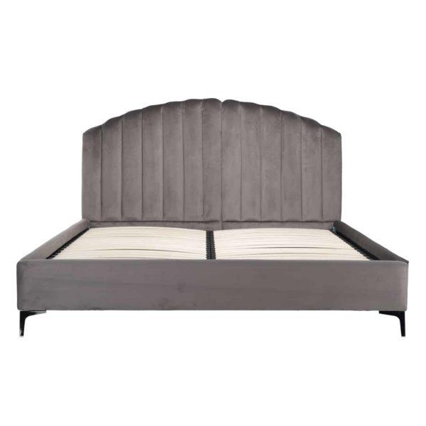 S6002 STONE VELVET - Bed Belmond 180x200 excl. matras (ZZZ-Quartz Stone 101)